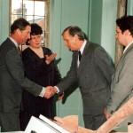 Roger Allflatt meets Prince Charles