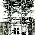 Water tower build, 1920's