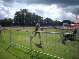Micheal competes in UK Ultimate Triathlon