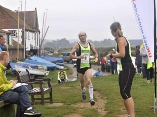 Michael Runs The Round Norfolk Relay