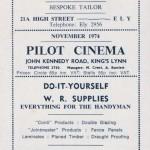 Pilot Cinema advert