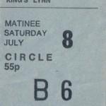 Pilot Cinema Ticket
